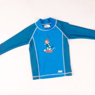 Blue Surfer Long Sleeves