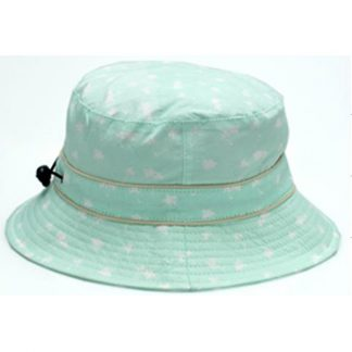 Bucket Sunhat Palm Tree Mint