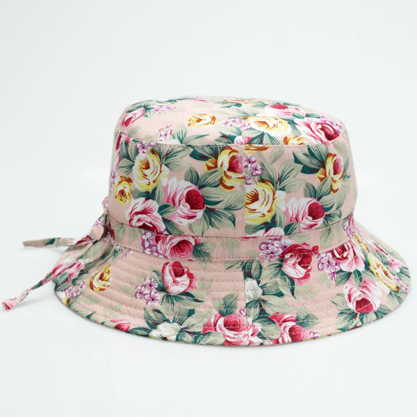 Bucket Sunhat - Vintage Rose