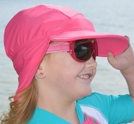 Banz Flap Sunhats for 2-4 years