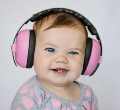 Little girl in Mini Earmuffs