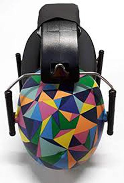 Hear No Blare Earmuffs in KaleidoscopeKaleidoscope