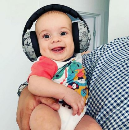 Baby in Graffiti Mini Earmuffs