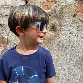 Boy wearing JBanz Chameleon sunglasses