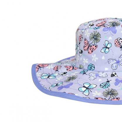 Reversible Sunhat Butterfly close up