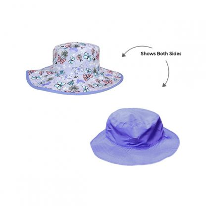 Reversible Sunhat Butterfly showing two sides