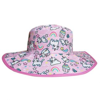 Reversible Sunhat Cats & Unicorns