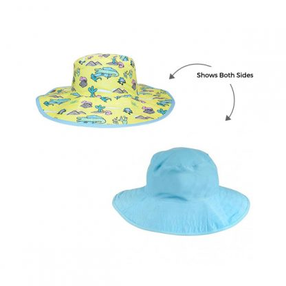 Reversible Sunhat Desert showing both sides
