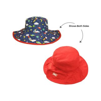 Reversible Sunhat Space showing two sides