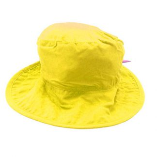 Reversible Sunhat Transport showing plain coloured reverse