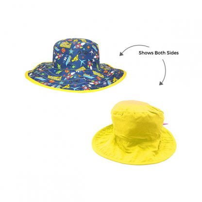 Reversible Sunhat Transport showing two sides