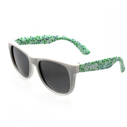 Beachcomber Banz Confetti Green Sunglasses
