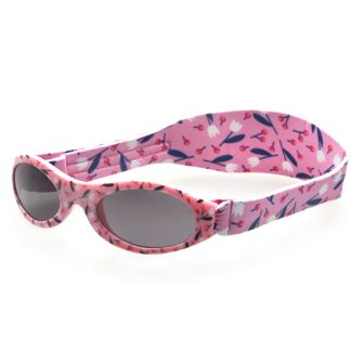 Adventure Banz Cherry Floral Sunglasses for 2-5 years