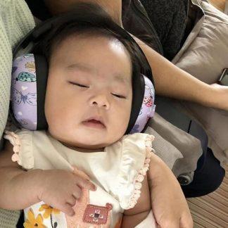 Baby sleeping in 0-2 years Earmuffs Butterfly