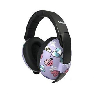 0-2 years earmuffs Butterfly open