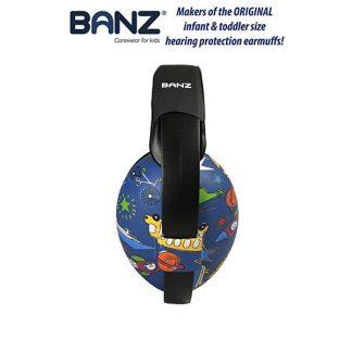 0-2 years earmuffs Transport with Banz branding
