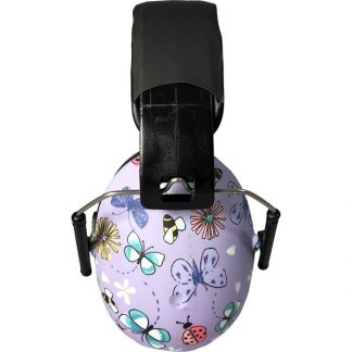 2-5 years earmuffs Butterfly side view